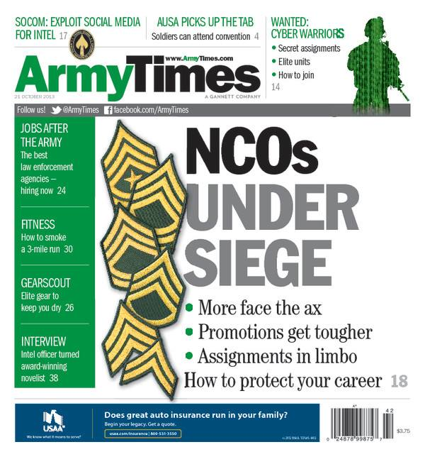 Army Times cover Oct. 21